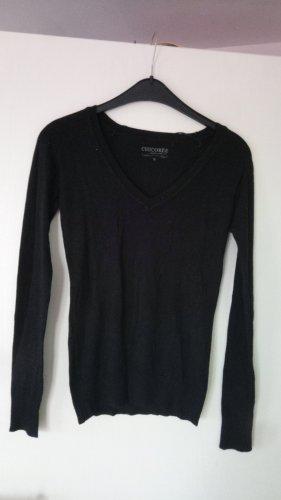 Chicorée Fine Knit Jumper black