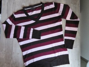 Michele Boyard V-Neck Sweater multicolored mixture fibre