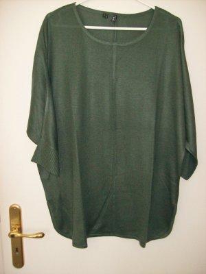 Rainbow Fine Knit Jumper green grey