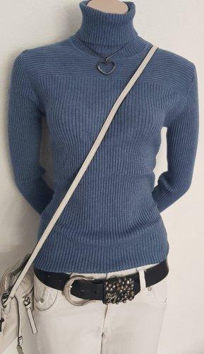 Fine Knit Jumper azure