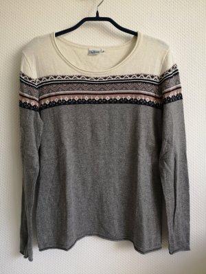 UpFashion Gebreid shirt grijs
