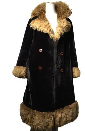 True Vintage Cappotto taglie forti nero-bronzo
