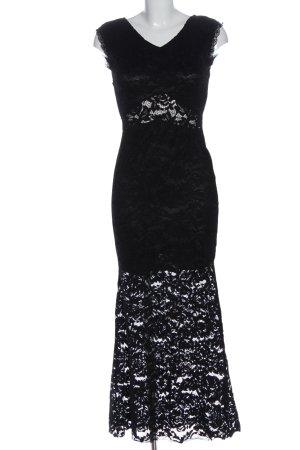 Felicia Spitzenkleid schwarz Elegant