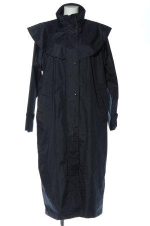 Felix Bühler Długi płaszcz czarny W stylu casual