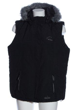 Felix Bühler Hooded Vest black casual look