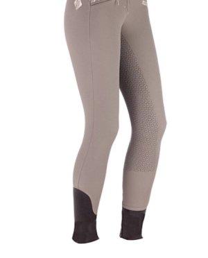 Pantalone da equitazione marrone-grigio