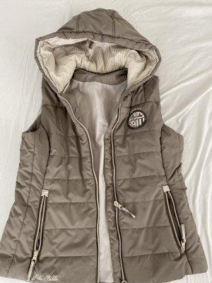 Felix Bühler Hooded Vest beige-taupe
