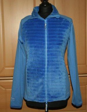 markenloses Softshell Jacket blue mixture fibre