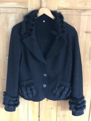 Madeleine Futrzana kurtka czarny