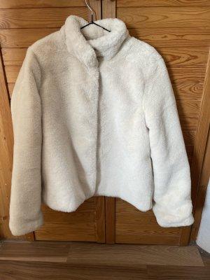 Vero Moda Fur Jacket white