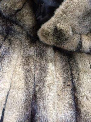 Saga Mink Giacca in pelliccia multicolore