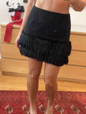 Rocco Barocco Miniskirt black