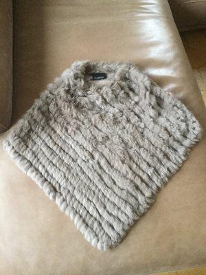 Fell/Strick Cape von Oakwood, One Size, nie getragen