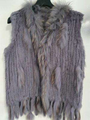 -8- Venice Fake Fur Vest multicolored