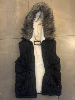 C&A Clockhouse Fake Fur Vest multicolored