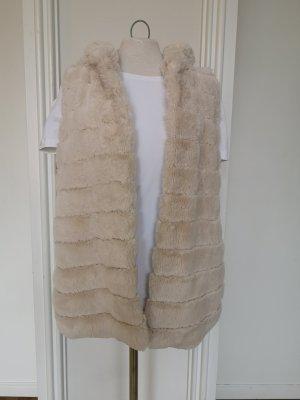 Jersey con capucha blanco puro tejido mezclado