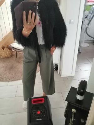 Benetton Fur Jacket black