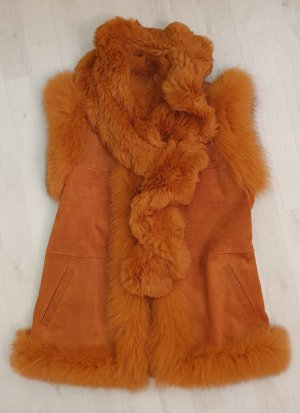 Fellgilet von OAKWOOD  in rost/orange   NEU