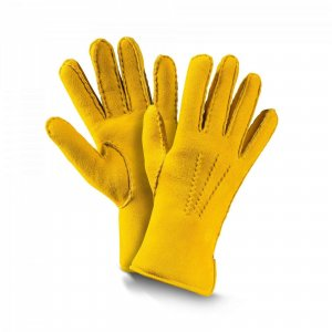 fellhof Gloves yellow leather
