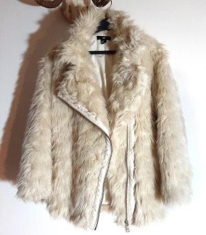 H&M Cappotto in eco pelliccia multicolore Acrilico