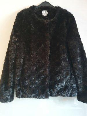 Saint Tropez Giacca di pelliccia nero