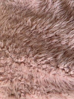 H&M Veste en fourrure multicolore