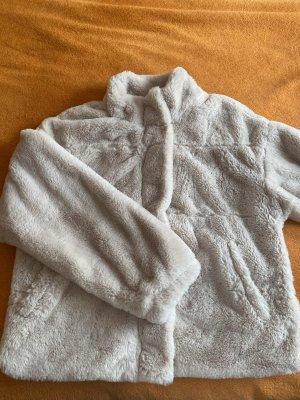 FB Sister Veste en fourrure beige clair polyester