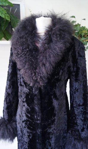 Couture Hélène Fur Jacket black acetate