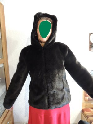 Orsay Chaqueta de piel negro