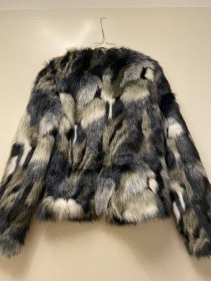 Mymo Fur Jacket multicolored fake fur