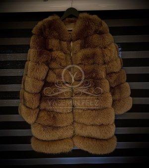 SAGA FURS Fur Jacket brown