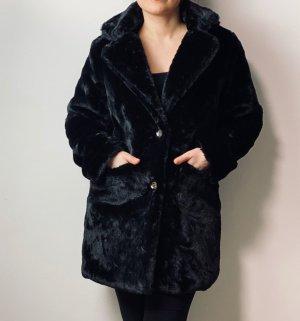 Mioni Italia Futrzana kurtka czarny