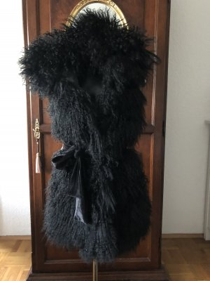 Escada Hooded Scarf black