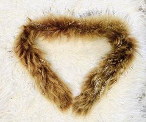 Écharpe à capuche brun-marron clair