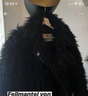 Cheap Monday Fake Fur Coat black