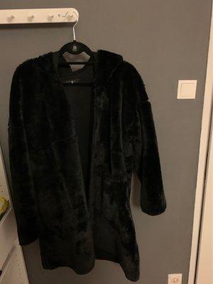 Amisu Manteau polaire noir