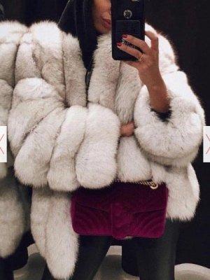 Fur Jacket white fake fur