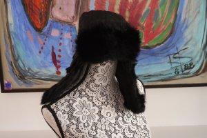 Wigens Fur Hat black mohair
