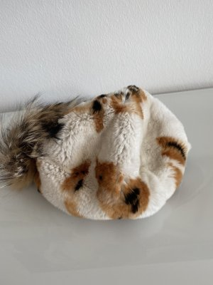 Mühlbauer Chapeau en fourrure multicolore