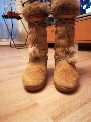 Tecnica Snow Boots camel pelt