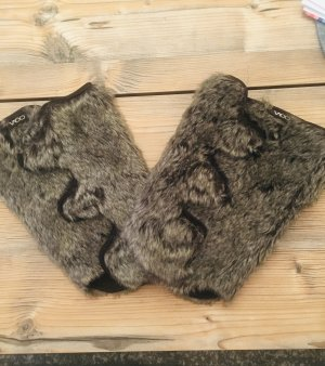 Fur Boots multicolored
