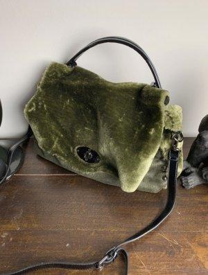 Italy Moda Canvas Bag olive green