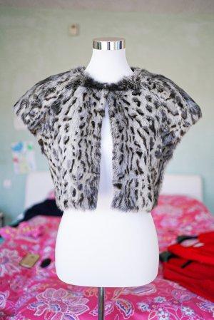 Steffen Schraut Fur vest multicolored angora wool