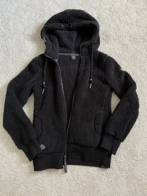 Ragwear Fur vest black