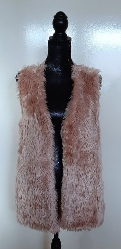 Aniston Fake Fur Vest pink