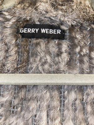 Gerry Weber Fur vest grey-dark grey
