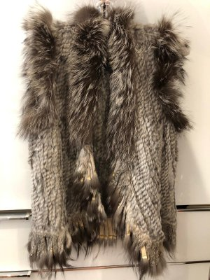 Inspire Fur vest multicolored pelt