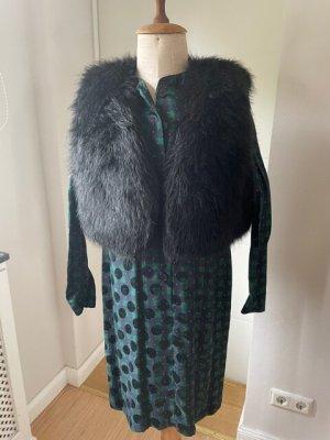 Dolce Vita Fur vest black mixture fibre