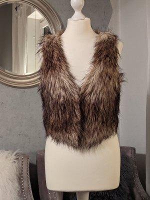 Fellweste Fake Fur