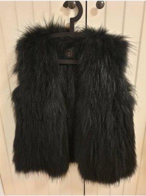 Sly 010 Fur vest black